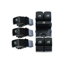 Кнопка управления стеклоподъемником для Volkswagen VW Golf MK5 6 Jetta Passat B6 Tiguan Rabbit Touran 5ND 959 857 5ND 959 855