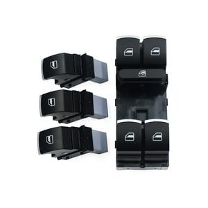 Power Window Control Switch Button Set For Volkswagen VW Golf MK5 6 Jetta Passat B6 Tiguan Rabbit Touran 5ND 959 857 5ND 959 855(China)