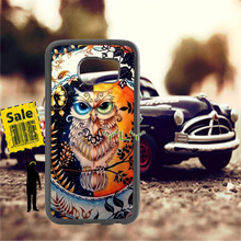 beautiful owl soft TPU edge phone cases for samsung s6 edge plus s7 edge s8 plus s9 plus note5 note8 note9 cover case pop art sad girl soft tpu edge mobile phone cases for samsung s6 edge plus s7 edge s8 plus s9 plus note5 note8 note9 case