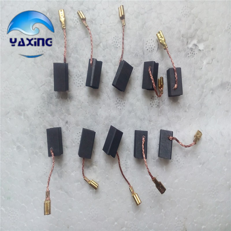 Starter Motor Carbon Brush  6.5x8x14mm #7-100  10 Pair