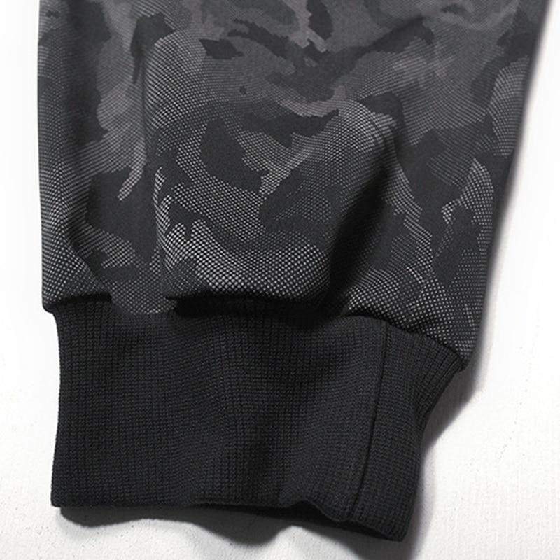 Image 5 - Зимние мужские флисовые тренировочные штаны камуфляжные спортивные штаны теплые с буквенным принтом размера плюс 6XL 7XL 8XL осенние спортивные штаны эластичные тянущиеся 50-in Спортивные брюки from Мужская одежда
