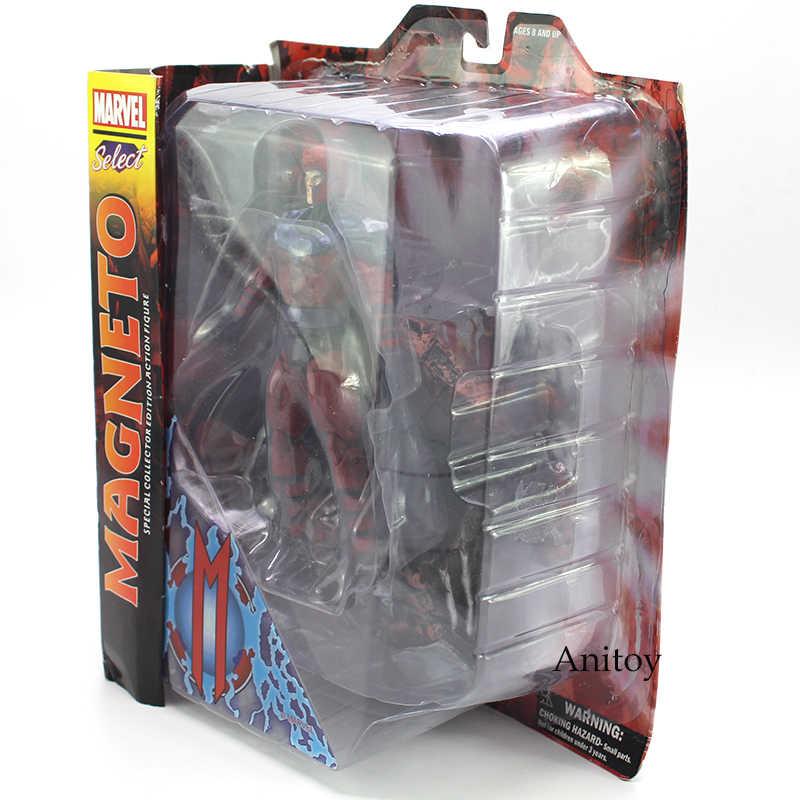 Marvel Select Collector Edition Toy Action Figure Magneto Especial 18 7 polegada cm