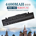 4400 mah 6 celdas de batería para portátil samsung pro r458 r460 r510 R60 R40 R408 R410 R610 R65 R70 R700 R71 R710 X360 R45