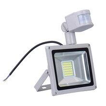 30W 1800LM LED spotlight PIR Security Motion Sensor Outdoor Waterproof Floodlight Spotlight Light Lamp White Warm White 220V