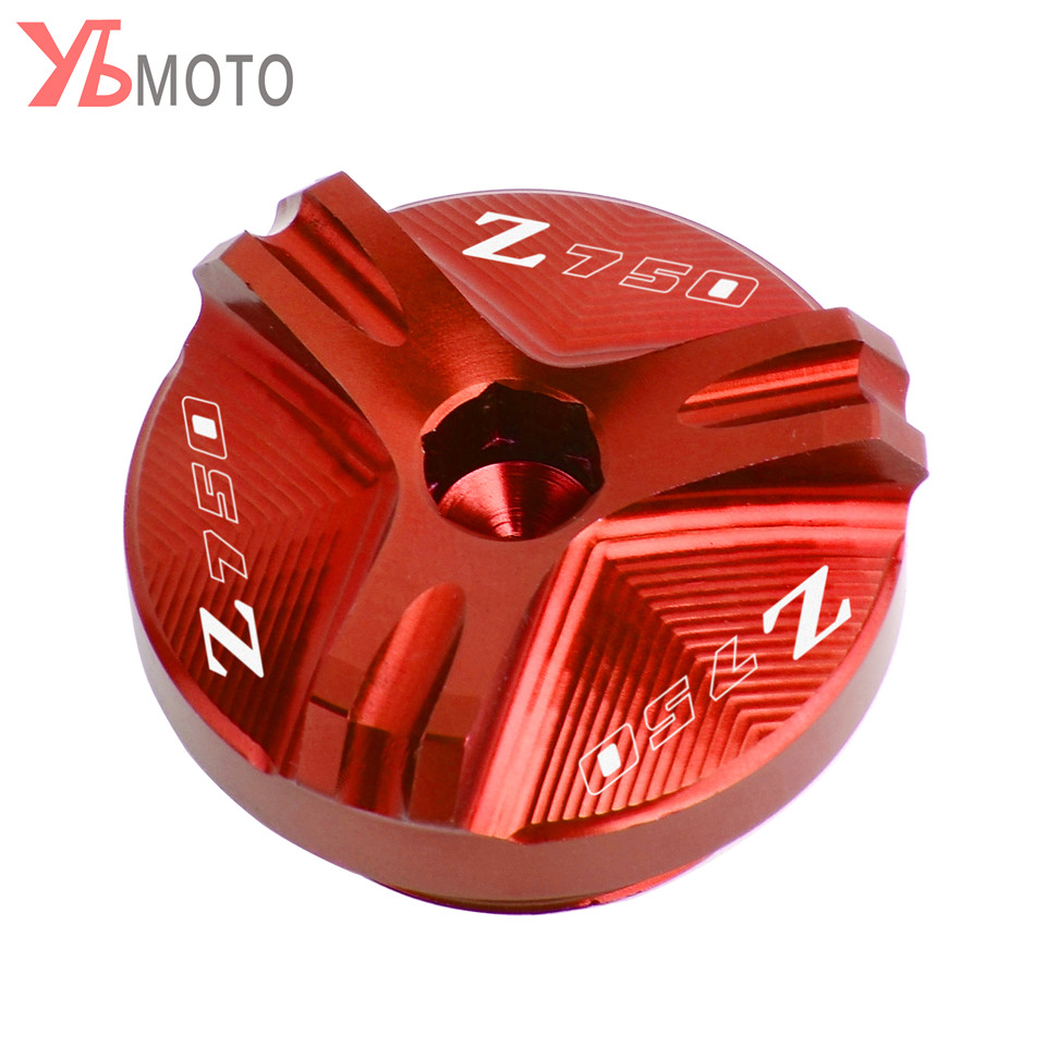 Image 2 - Flash Deals FOR KAWASAKI Z750/S 2004 2005 2006 2007 2008 2009 2010 Accessories Motorcycle CNC Oil Filler Cap Plug With Logo-in Covers & Ornamental Mouldings from Automobiles & Motorcycles