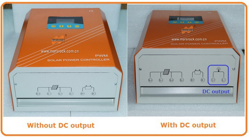 50A 220V Solar Charge Controller with RS232 communication interface, equipped with LCD display for off grid solar power system!