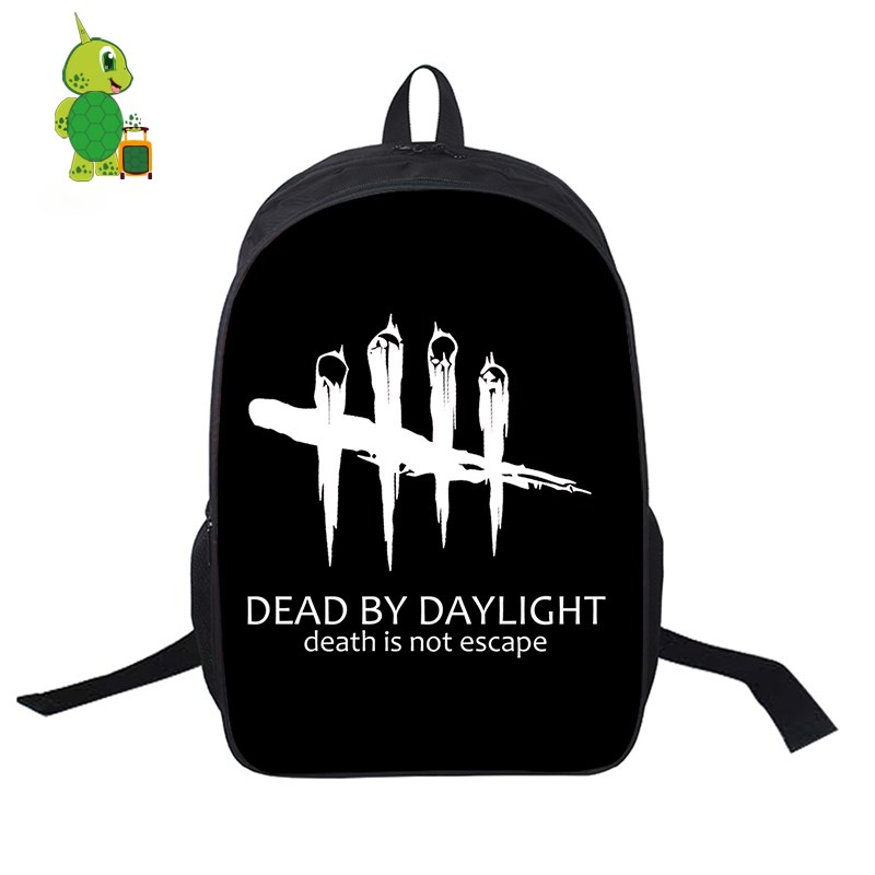 Dead By Daylight Game School Bags Women Men Daily Backpack Laptop Backpack for Teenage Girls Boys Casual Rucksack Travel BagsDead By Daylight Game School Bags Women Men Daily Backpack Laptop Backpack for Teenage Girls Boys Casual Rucksack Travel Bags