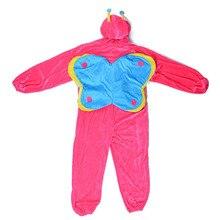 Niños mariquita traje rosado de la mariposa del traje onesies niños de hadas de la fantasía disfraces fancy dress jumpsuit pijamas trajes de carnaval(China (Mainland))