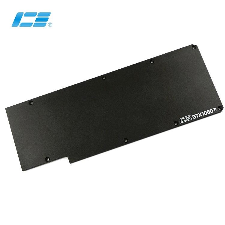 Original Icemancooler GTX1080 Ti graphics card board Full Cover Graphics Card Water Cooling Block backboard rear panel