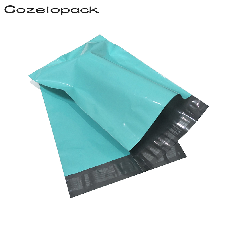 100PCS 10x13inch Poly Mailer 26x33cm Teal Poly Mailer Self Seal Envelopes Shipping Bag With Adhesive Postal Bags Shipping Bags