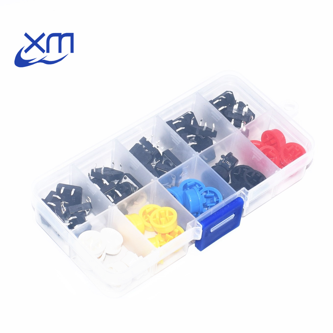 Lights & Lighting Humorous 20pcs Tactile Push Button Switch Momentary Tact Cap 12*12*7.3mm Micro Switch Button Cap
