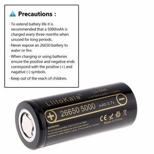 Image 2 - LiitoKala Lii 100 battery charger HongKong LiitoKala Lii 50A 26650 5000mah Rechargeable battery for flashlight,40 50A discharge