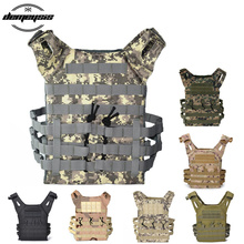 Outdoor Tactical Molle Vest Military Airsoft Shooting Vest Paintball Protective Plate Carrier Airsoft Vest Waistcoat tmc jump plate carrier 500d cordura fg airsoft military tactical vest free shipping sku12050281