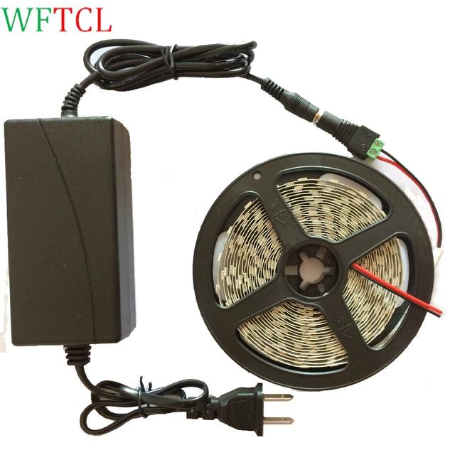 Kit Tira de Luz LED 5 M 16.4 Pies Incluye la fuente de Alimentación ...