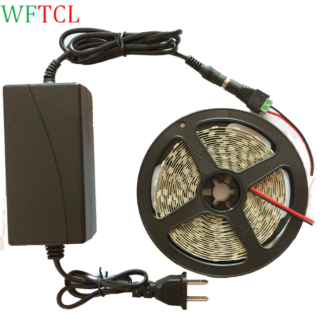 Led light strip kit 5m 164 feet includes dc12v power supply and smd led light strip kit 5m 164 feet includes dc12v power supply and smd 5050 led tape aloadofball Gallery