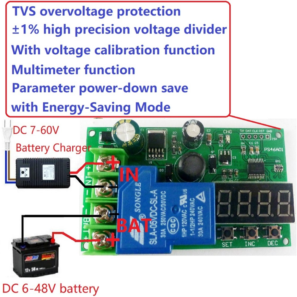 12v 3a 1 1000ah Lead Acid Battery Dedicated Charger Module Board For Solar Circuit Can Charge Or Sla Multifunction Lithium Charging Controller Protection Voltmeter Ups Diy 6