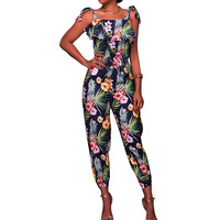 Casual New Style Summer holiday Beach Jumpsuit 2018 Sleeveless Women Bodycon Romper Playsuit AB297