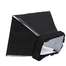 10 قطعة/الوحدة العالمي مربع شاشة مرنة فلاش الناشر ل canon nikon سوني ل بنتاكس فوجي فيلم أوليمبوس لايكا