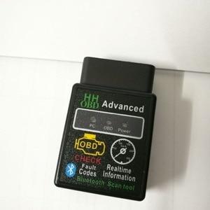 50pcs DHL Mini ELM327 V2.1 Blu