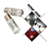 2x High Power S25 1156 BA15S 50W P21W CREE Chip XBD LED Car Reverse Backup Reverse