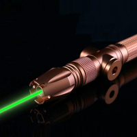 OXLasers OX GX980 1W 520nm Focusable Green laser pointer the Brightest Burning Laser fat beam laser saber free shipping