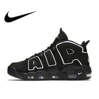 Оригинальный Nike Оригинальные кроссовки Max Air более ритмично Для мужчин дышащие Баскетбол Обувь спортивная, кроссовки открытый голяшка сред
