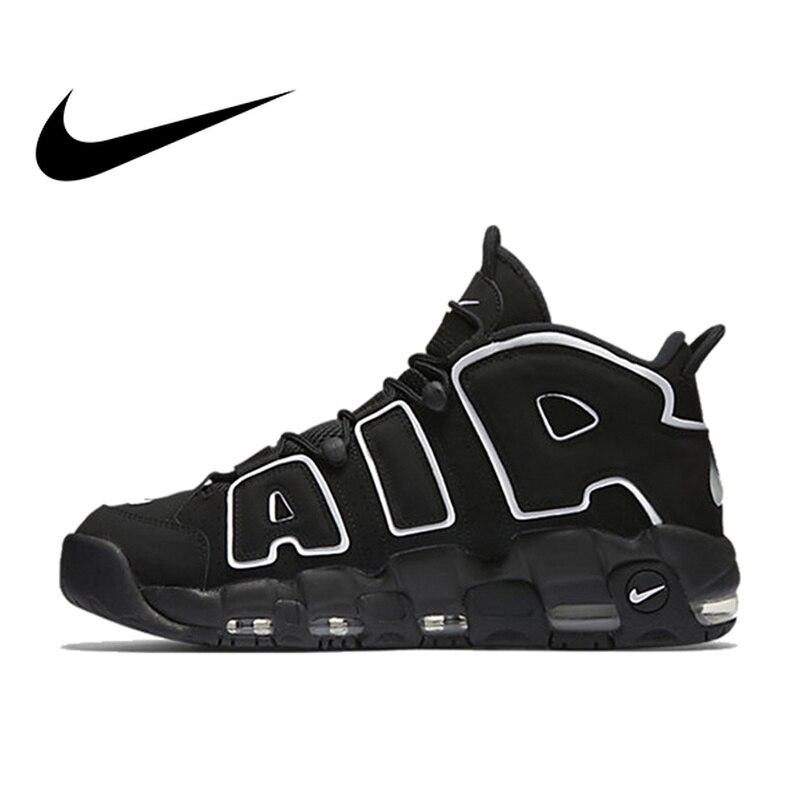 Оригинальный Nike Оригинальные кроссовки Max Air более ритмично Для мужчин дышащие баскетбольная Обувь спортивная, кроссовки на открытом возду