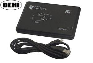 Image 1 - 10 ピース/ロット高品質 13.56 mhz RFID IC カードタグリーダー (読み取り専用) USB 2.0