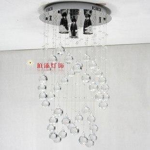 Disc Hangende Kristalllichter Linie Die Wichtigsten Schlafzimmer