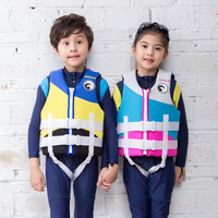 HISEA Kids Life Vest Neoprene Floating Children Life Vest Jacket Life Swimming Learners Youth Life Jacket Water Waist Coat