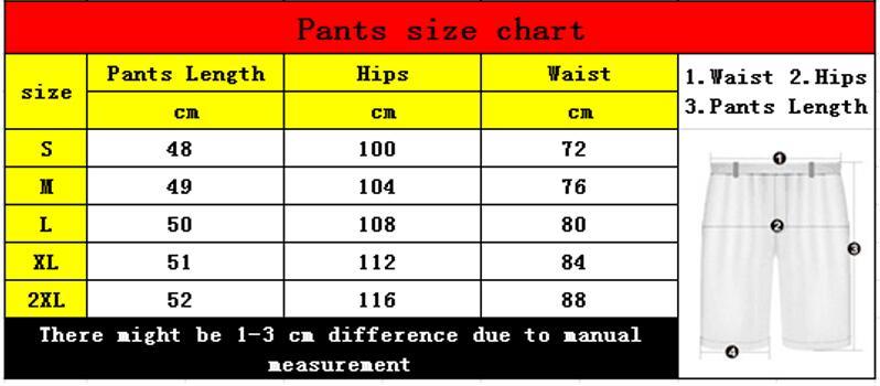 03短裤尺码1