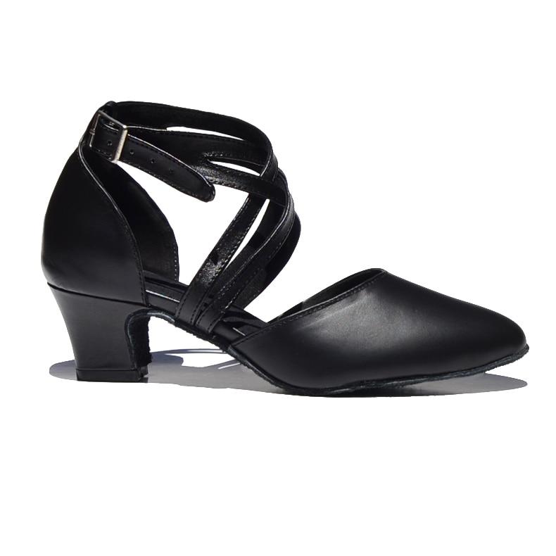 Nuevo 2019 Zapato de mujer en zapatos de baile de cuero Zapato de - Zapatillas - foto 6