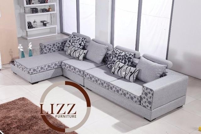 Lizz Alta Calidad De La Tela Sofa De La Sala Muebles Modernos Af075 - Muebles-modernos-de-sala