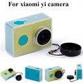 Сумасшедший Продажа Защитный Чехол Кожа Для Xiaomi YI Действий Камеры Accesorios Прозрачной Защитной Крышкой С Крышкой Объектива Для Xiao Yi