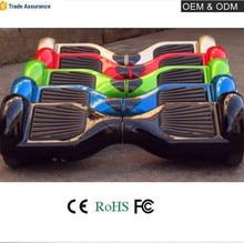 CE/FCC/RoHS de Alta Calidad cubierta de plástico hoverboard