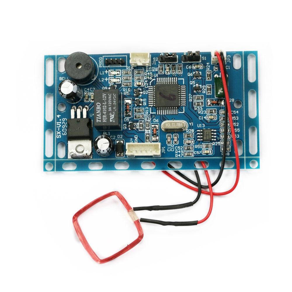 125 KHZ RFID EM/ID Control de Acceso integrado RFID Sistema de Control de Acceso de puerta de proximidad Módulo de intercomunicador de construcción