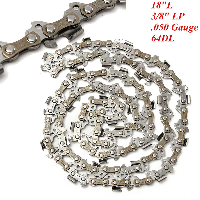 18 Inch Chainsaw Saw Chain Blade 45cm Chain Replament Chainsaw For 3/8LP .050 Gauge 64DL Drive Link Accessory18 Inch Chainsaw Saw Chain Blade 45cm Chain Replament Chainsaw For 3/8LP .050 Gauge 64DL Drive Link Accessory