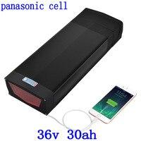 36 V 30AH elektrische fiets batterij 36 V 29AH lithium batterij gebruik panasonic mobiele voor 36 V 350 W 500 W 1000 W ebike motor + 3A charger