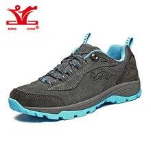 2017 XiangGuan Original outside Women footwear sports activities mountain climbing footwear for males  non-slip zapatillas Waterproof trekking boots