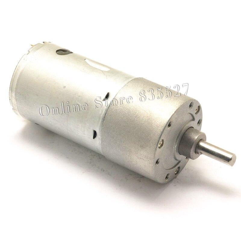 1pcs/lot JGB37-540 DC deceleration motor high torque 12V