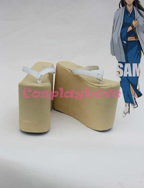 Gintama Katsura Kotarou Cosplay Shoes Boots Custom Made