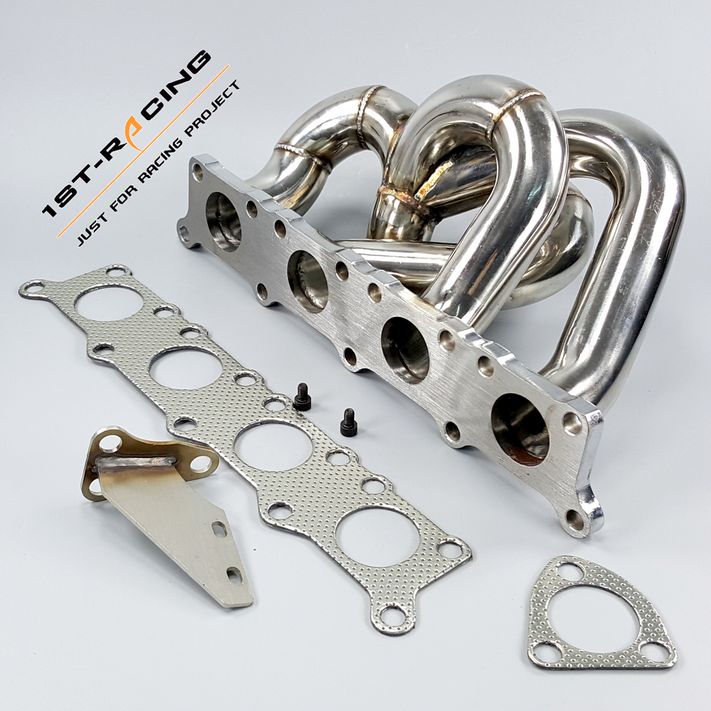 US $149 0 |K04 Turbo Exhaust Manifold For VW Passat Audi A4 1 8t 20v Polish  Stainless Steel-in Exhaust Manifolds from Automobiles & Motorcycles on