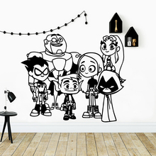 Colorful cartoon people Decorative Sticker Waterproof Home Decor For Baby's Rooms Wall Stickers Waterproof Wallpaper цена