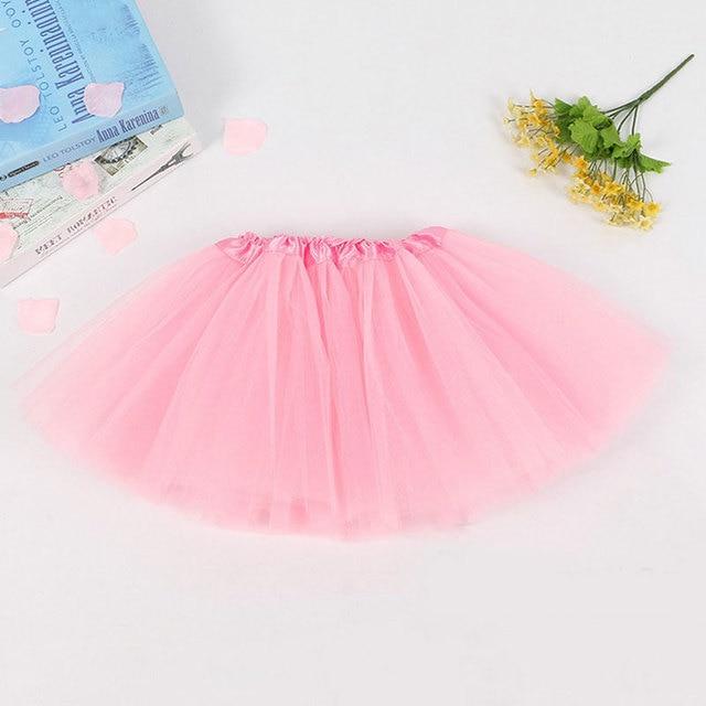 2-8 Years Children Girls Tutu Skirts Girls Party Ballet Dance Wear Pettiskirt  Baby Girl Clothes Princess Kids Skirts for Girls