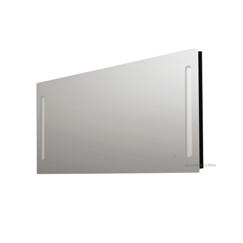 Heated Mirror with light and Demister LED Illuminated Bathroom ...