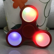 LED Light Styles Hand Finger Spinner Fidget Spinner