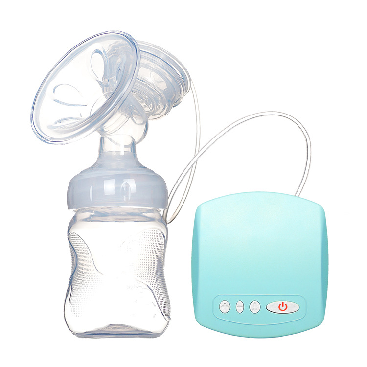 USB Chargeable Automatic Breast Pump with Milk Bottle Made with BPA free Material for Milk Feeding 17