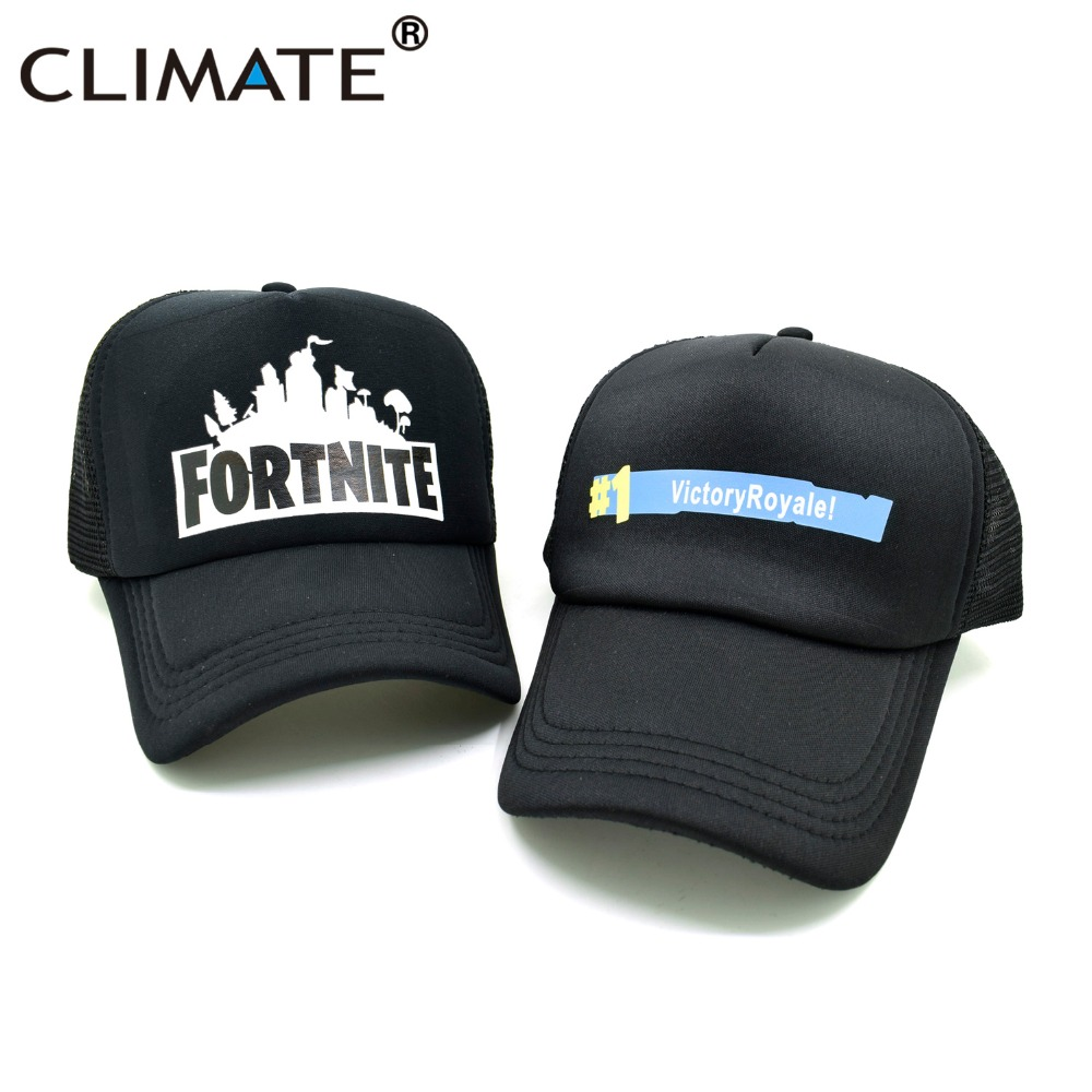 CLIMATE Fortnite Trucker Cap Hat Hot New Game Fortnite Fans Cool Mesh - Kläder tillbehör - Foto 3