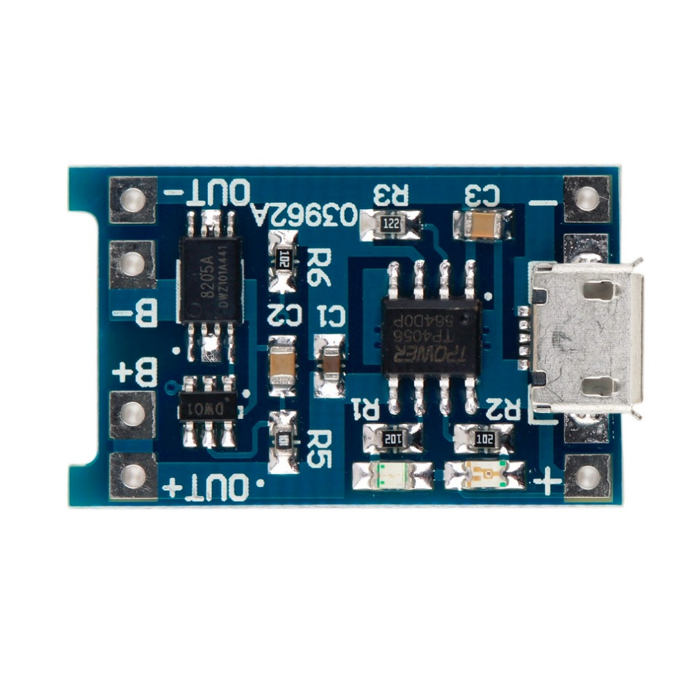 5V Micro USB 1A 18650 Lithium Battery Charging Board Charger Module With Protective New Battery Charger Module