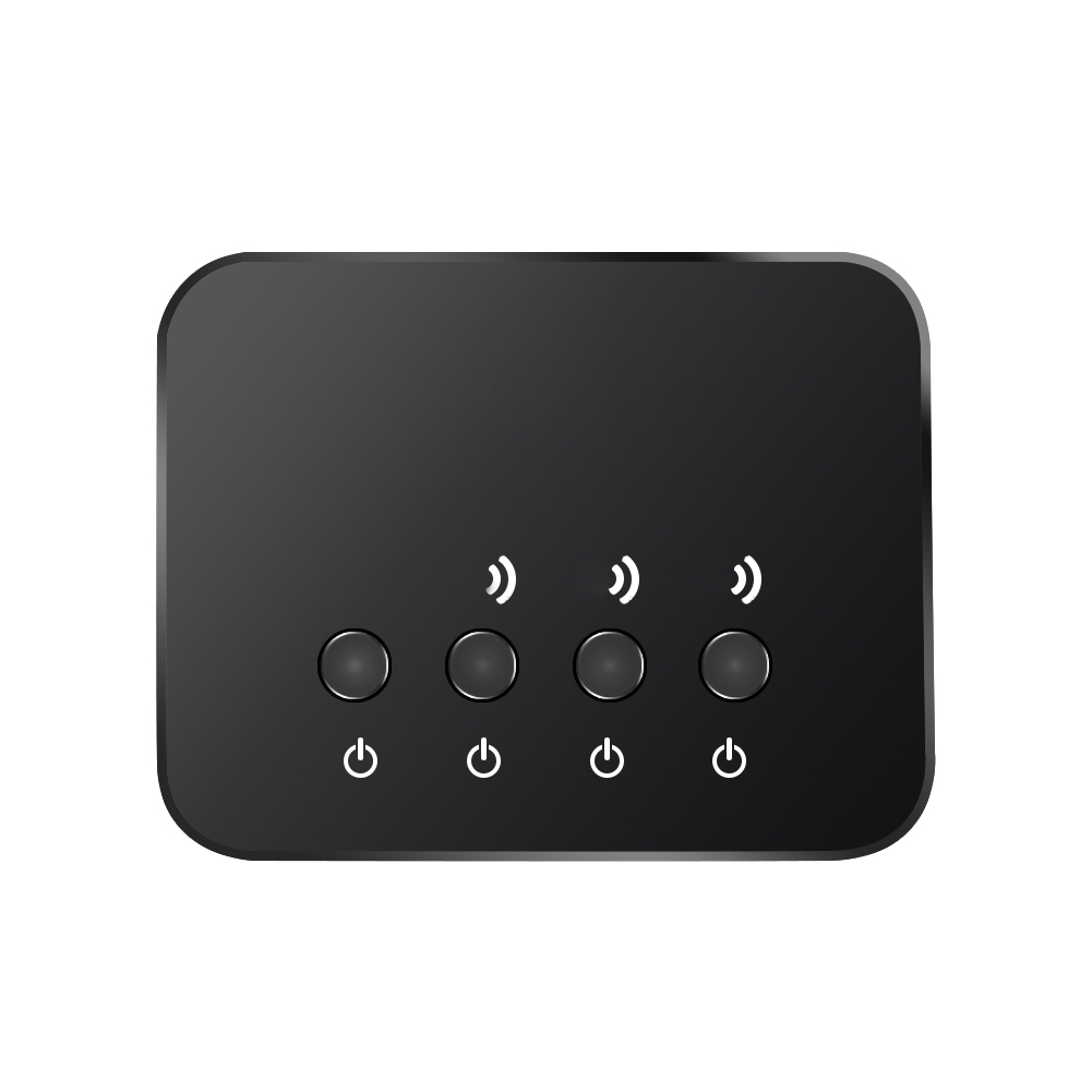 Nouveau Portable 3 en 1 Bluetooth HD Audio Émetteur Sans Fil Audio Adaptateur avec Câble de Recharge et Audio Câble pour TV ordinateur